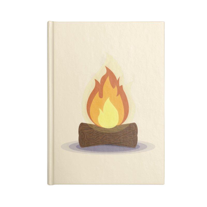 Quiet Flame Accessories Blank Journal Notebook by Gentlemen Tees