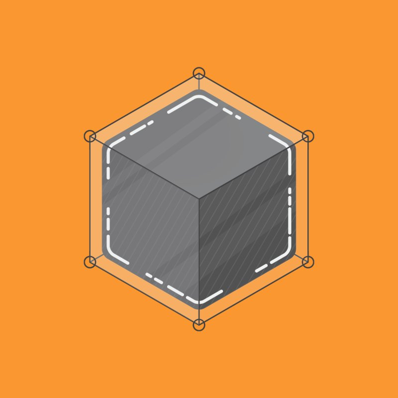 Hexacube by Gentlemen Tees