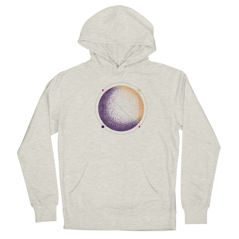 Lunar Orbit Women's French Terry Pullover Hoody by Gentlemen Tees