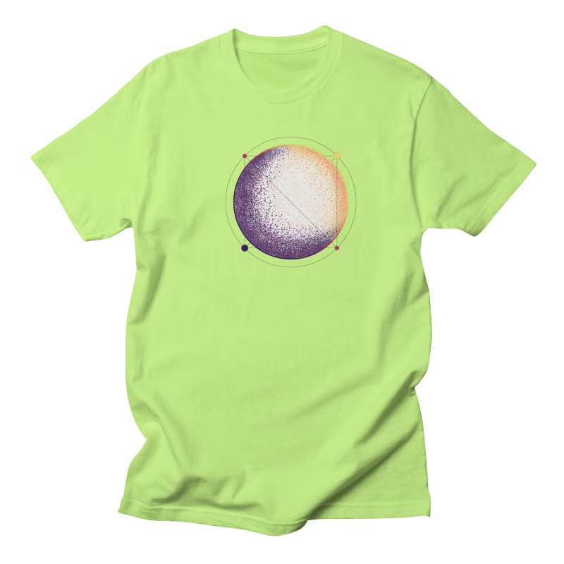 Lunar Orbit Men's Regular T-Shirt by Gentlemen Tees