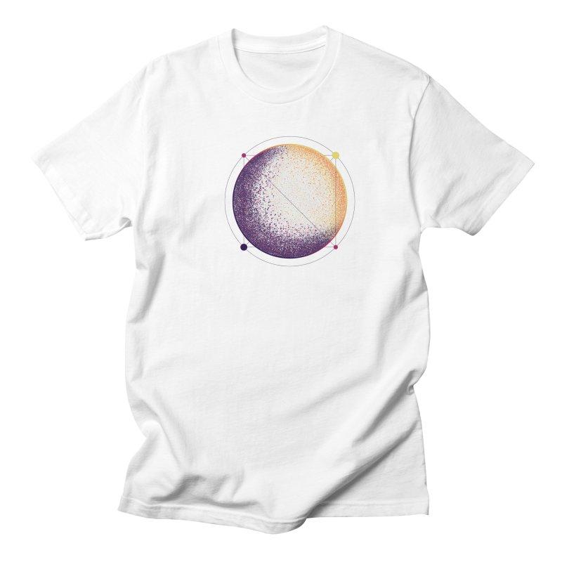 Lunar Orbit Men's Regular T-Shirt by Gentlemen Tees