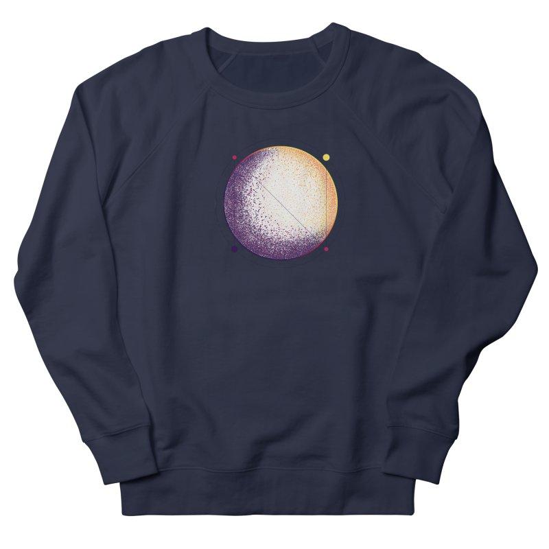 Lunar Orbit Women's French Terry Sweatshirt by Gentlemen Tees