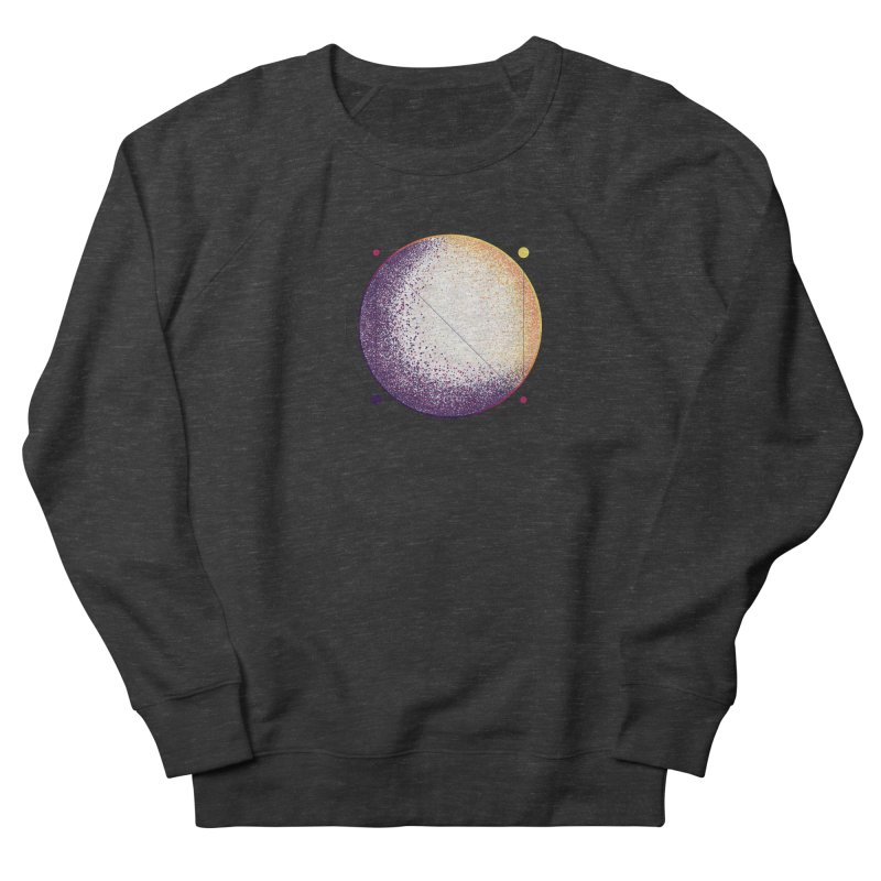 Lunar Orbit Men's French Terry Sweatshirt by Gentlemen Tees