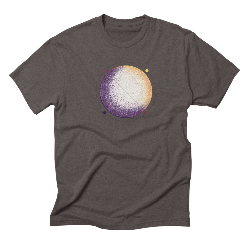 Lunar Orbit Men's Triblend T-Shirt by Gentlemen Tees