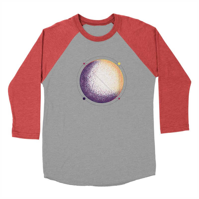 Lunar Orbit Women's Baseball Triblend Longsleeve T-Shirt by Gentlemen Tees