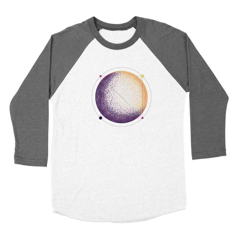 Lunar Orbit Men's Baseball Triblend Longsleeve T-Shirt by Gentlemen Tees