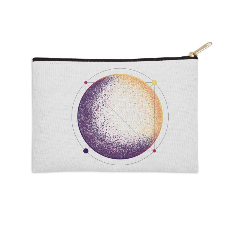 Lunar Orbit Accessories Zip Pouch by Gentlemen Tees