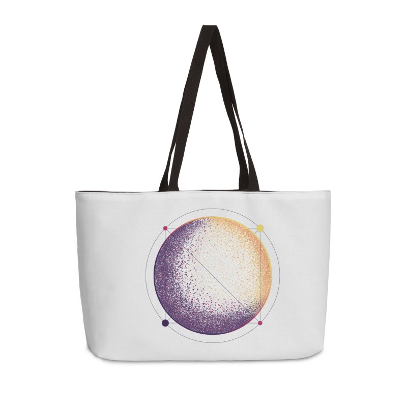 Lunar Orbit Accessories Weekender Bag Bag by Gentlemen Tees