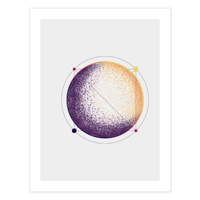 Lunar Orbit Home Fine Art Print by Gentlemen Tees