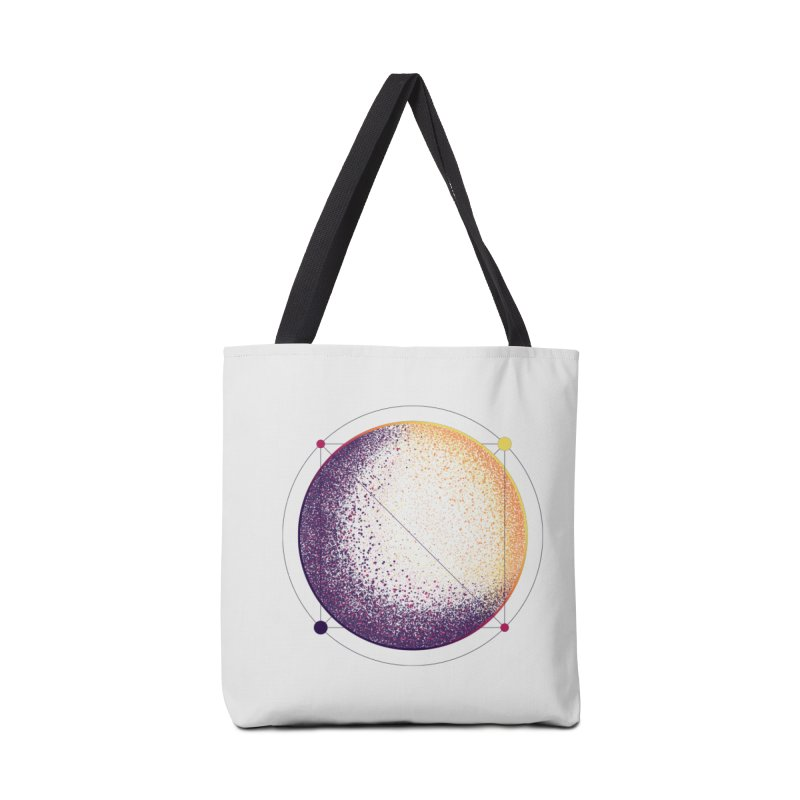Lunar Orbit Accessories Tote Bag Bag by Gentlemen Tees