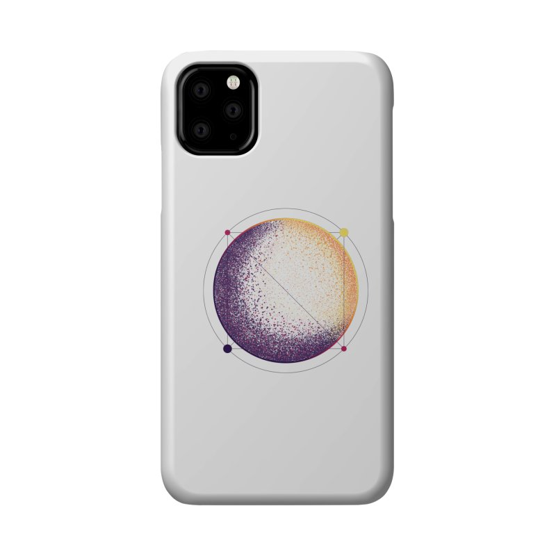 Lunar Orbit Accessories Phone Case by Gentlemen Tees