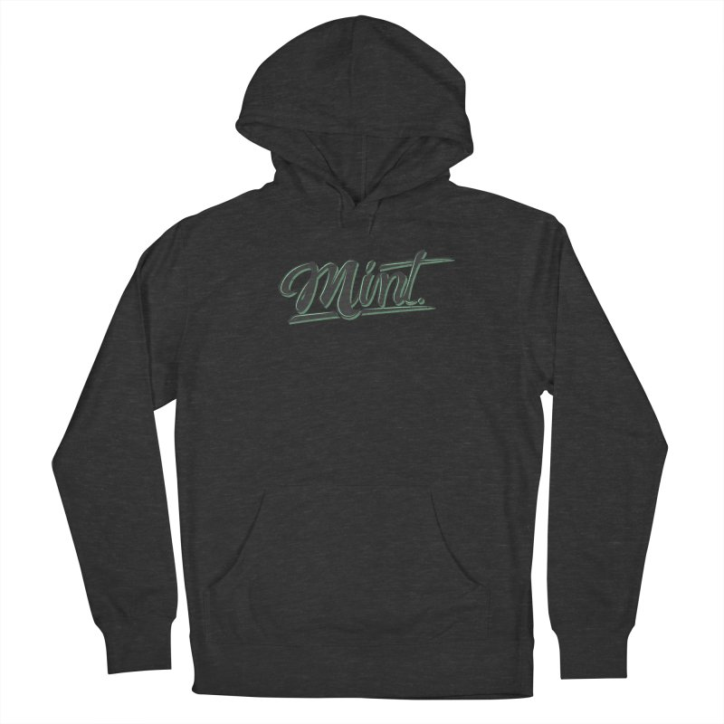 Mint Women's French Terry Pullover Hoody by Gentlemen Tees
