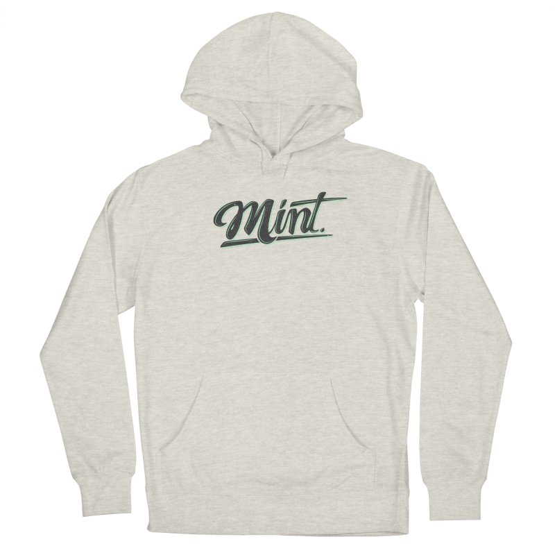 Mint Men's French Terry Pullover Hoody by Gentlemen Tees