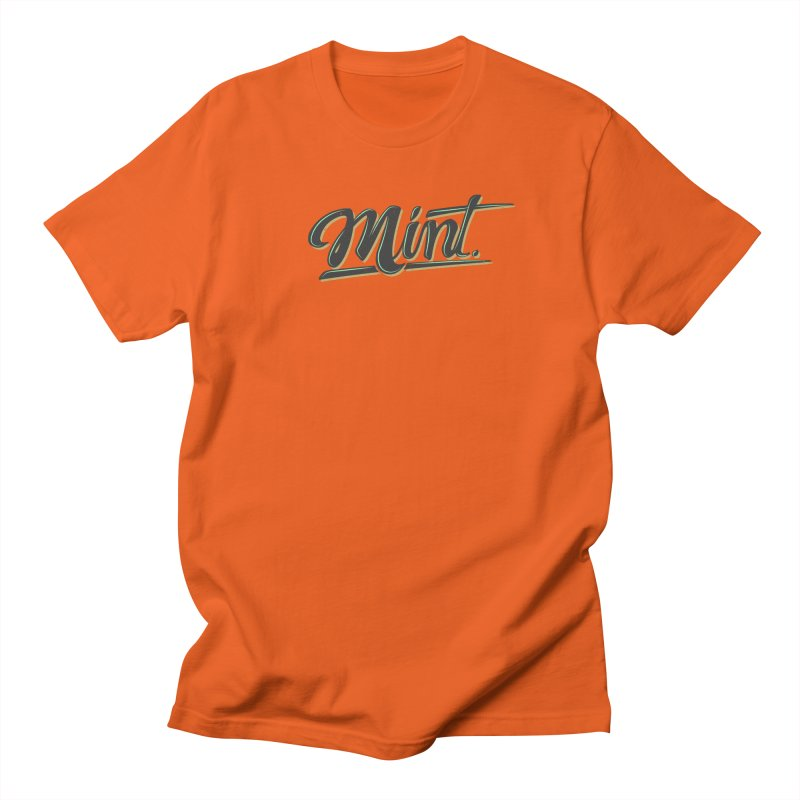 Mint Men's Regular T-Shirt by Gentlemen Tees