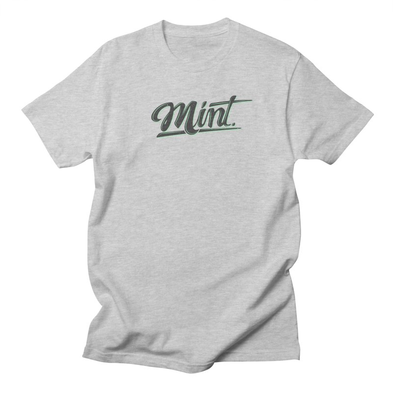 Mint Men's Regular T-Shirt by Gentlemen Tees