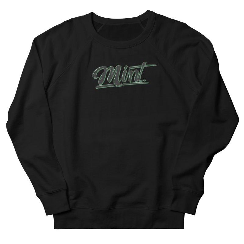 Mint Women's French Terry Sweatshirt by Gentlemen Tees