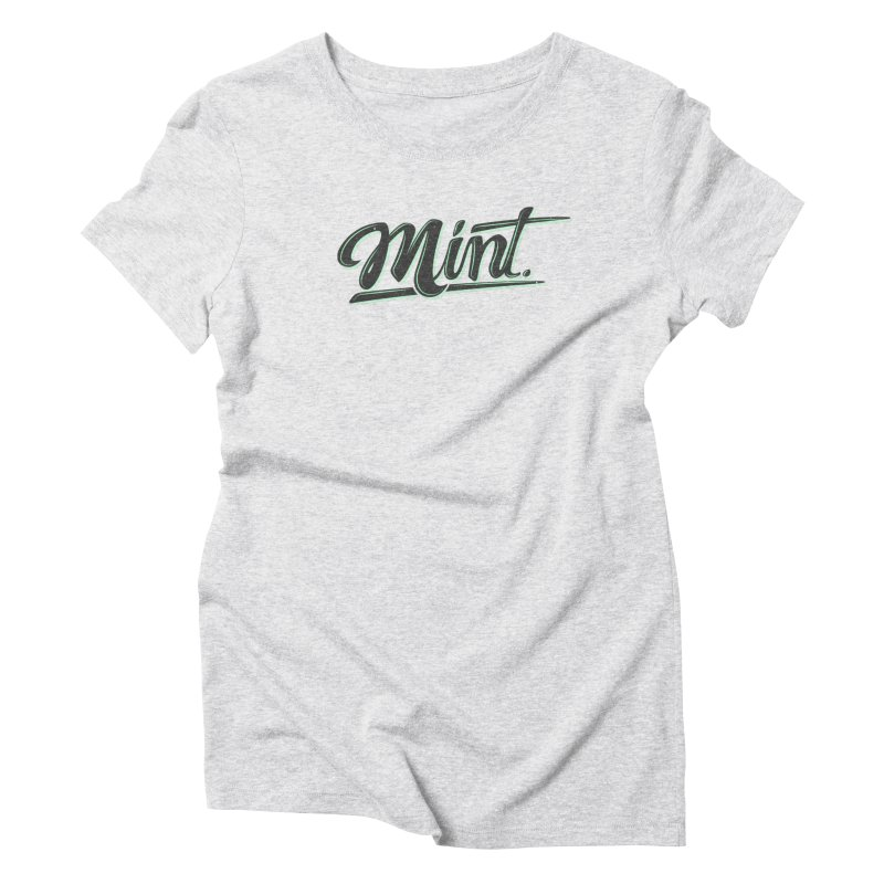 Mint Women's Triblend T-Shirt by Gentlemen Tees