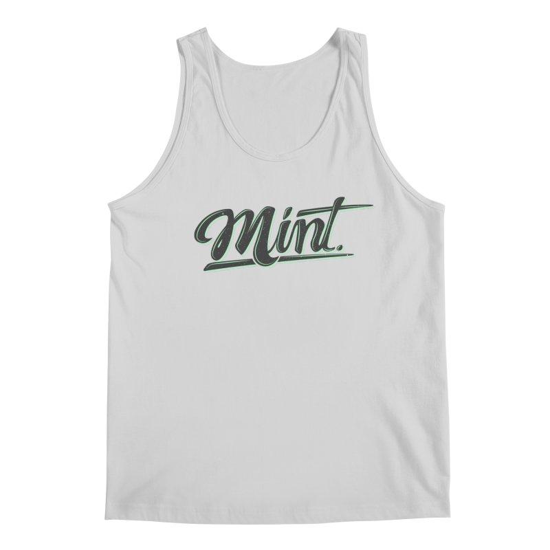 Mint Men's Regular Tank by Gentlemen Tees