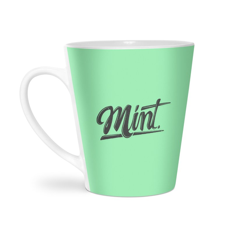Mint Accessories Latte Mug by Gentlemen Tees