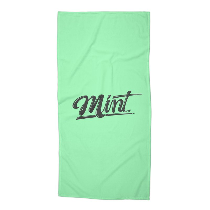 Mint Accessories Beach Towel by Gentlemen Tees