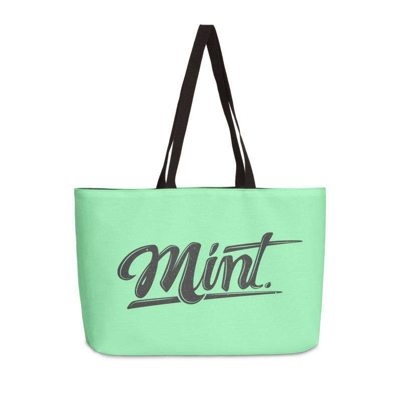 Mint Accessories Weekender Bag Bag by Gentlemen Tees