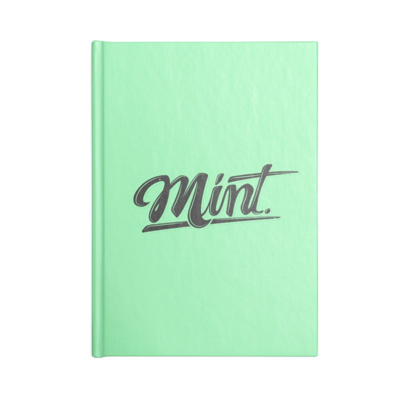 Mint Accessories Blank Journal Notebook by Gentlemen Tees