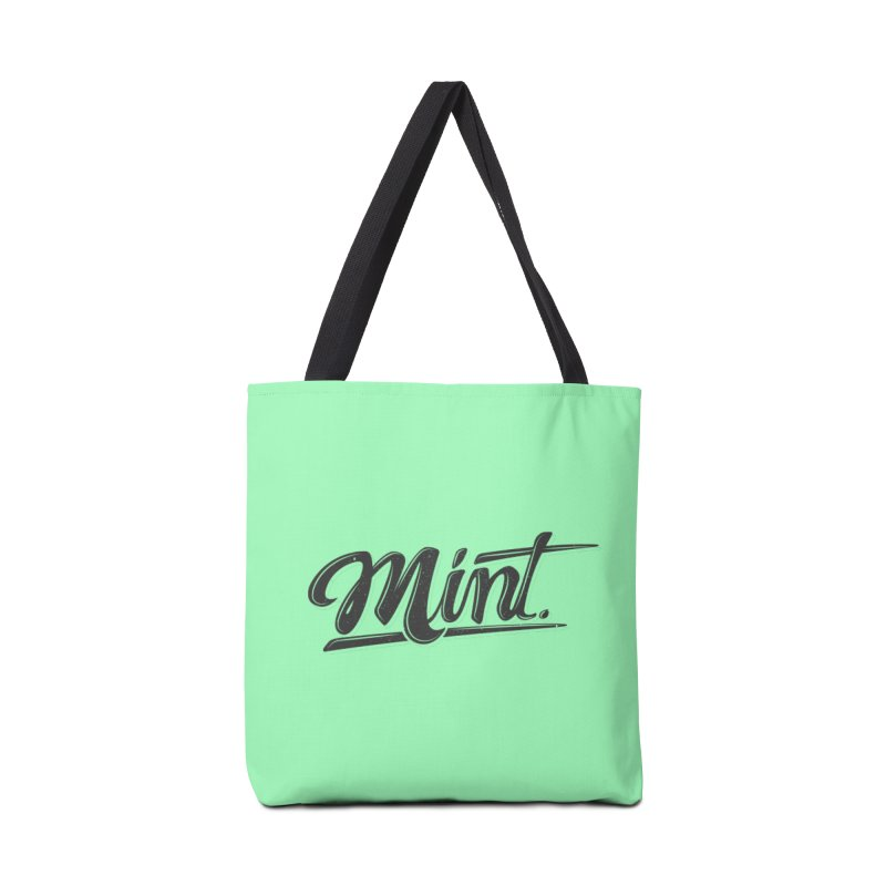 Mint Accessories Tote Bag Bag by Gentlemen Tees