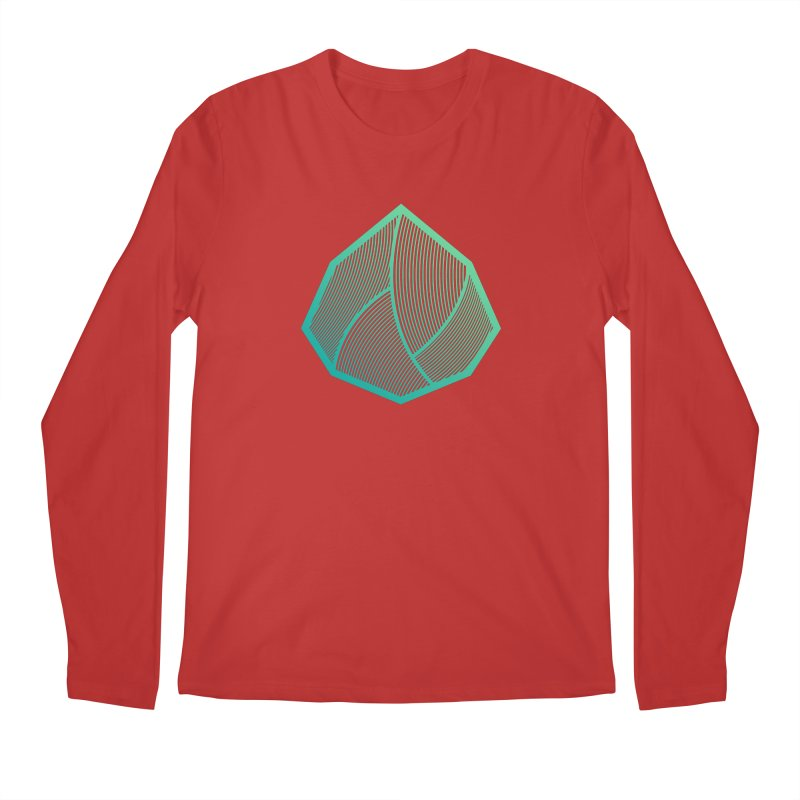 Alpha Mark Men's Regular Longsleeve T-Shirt by Gentlemen Tees