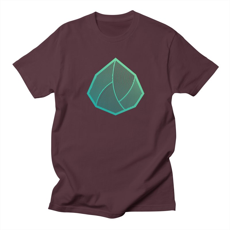Alpha Mark Men's Regular T-Shirt by Gentlemen Tees