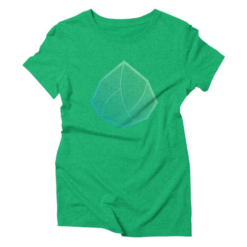Alpha Mark Women's Triblend T-Shirt by Gentlemen Tees