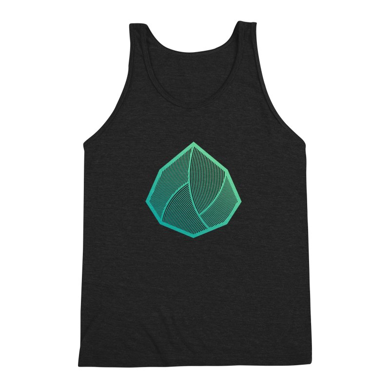 Alpha Mark Men's Triblend Tank by Gentlemen Tees