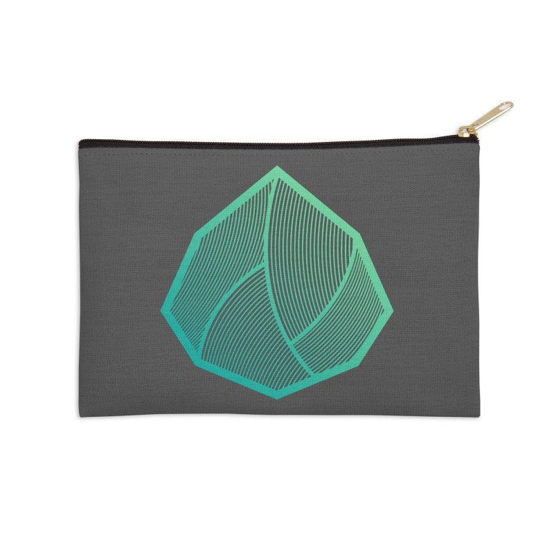 Alpha Mark Accessories Zip Pouch by Gentlemen Tees