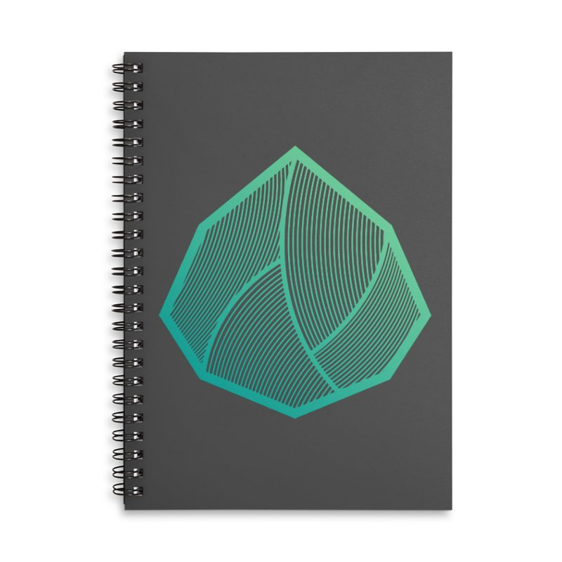 Alpha Mark Accessories Lined Spiral Notebook by Gentlemen Tees