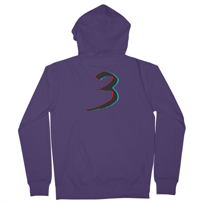 3 Women's French Terry Zip-Up Hoody by Gentlemen Tees