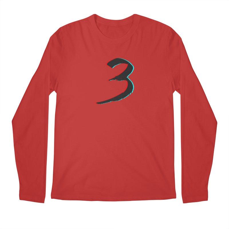 3 Men's Regular Longsleeve T-Shirt by Gentlemen Tees