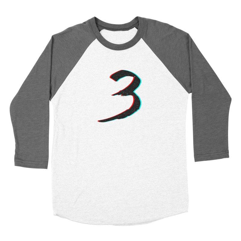 3 Men's Baseball Triblend Longsleeve T-Shirt by Gentlemen Tees