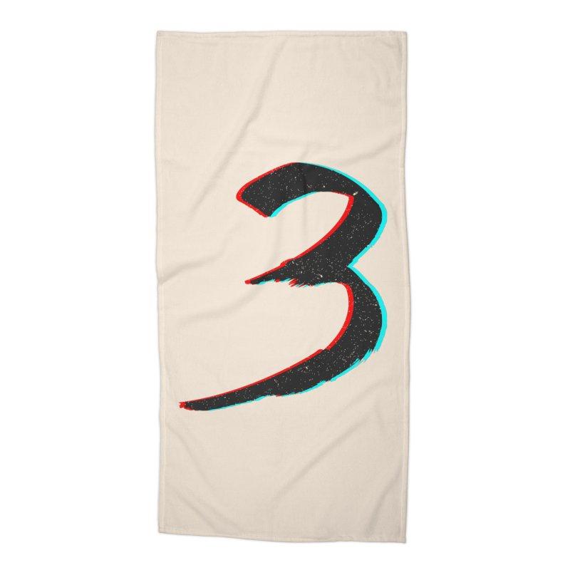 3 Accessories Beach Towel by Gentlemen Tees
