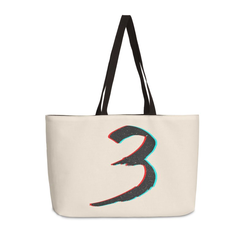3 Accessories Weekender Bag Bag by Gentlemen Tees