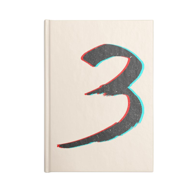 3 Accessories Lined Journal Notebook by Gentlemen Tees
