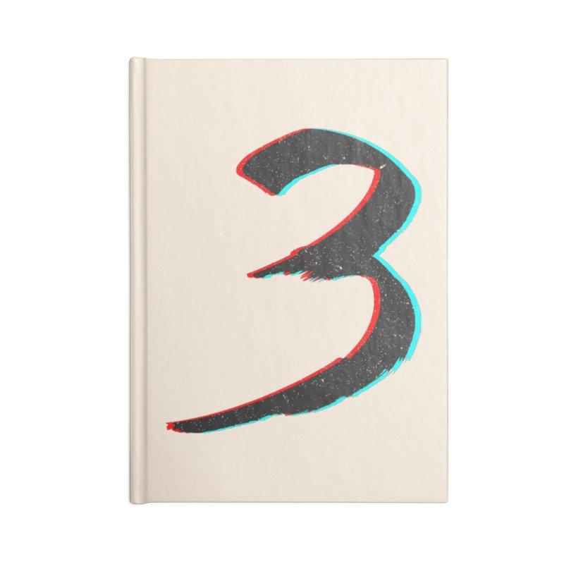 3 Accessories Blank Journal Notebook by Gentlemen Tees