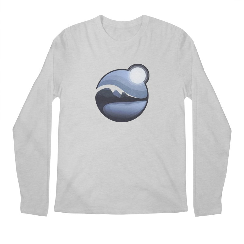 Reflection Men's Regular Longsleeve T-Shirt by Gentlemen Tees