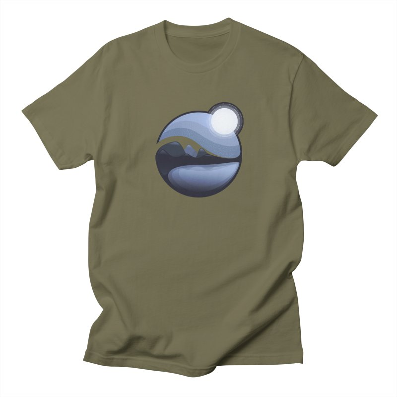 Reflection Men's Regular T-Shirt by Gentlemen Tees