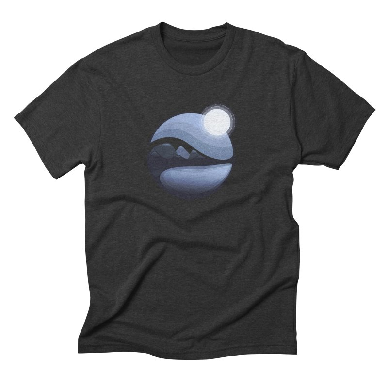 Reflection Men's Triblend T-Shirt by Gentlemen Tees