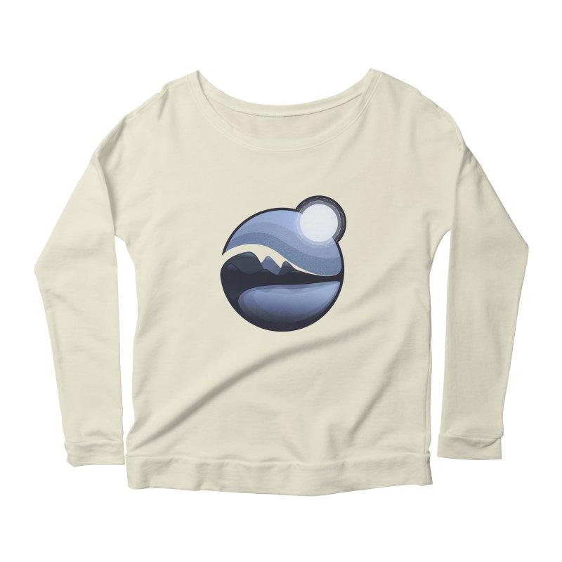 Reflection Women's Scoop Neck Longsleeve T-Shirt by Gentlemen Tees