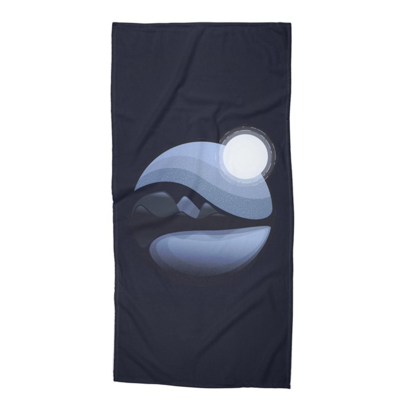 Reflection Accessories Beach Towel by Gentlemen Tees
