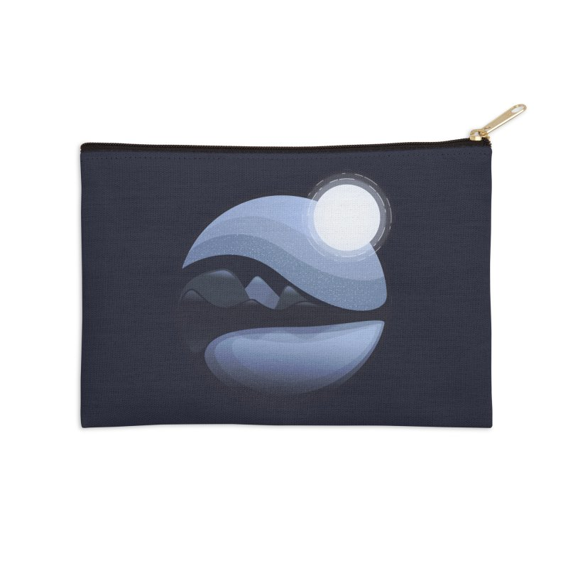 Reflection Accessories Zip Pouch by Gentlemen Tees