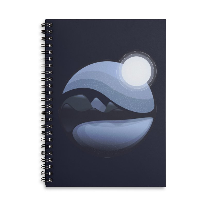 Reflection Accessories Lined Spiral Notebook by Gentlemen Tees