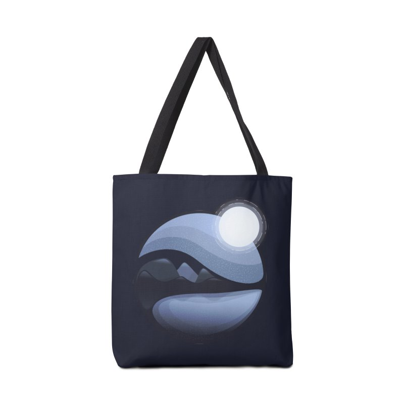 Reflection Accessories Tote Bag Bag by Gentlemen Tees