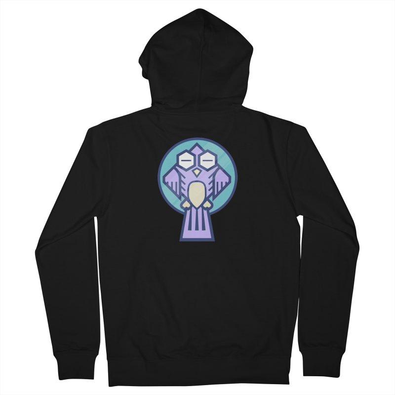 Night Owl Men's French Terry Zip-Up Hoody by Gentlemen Tees