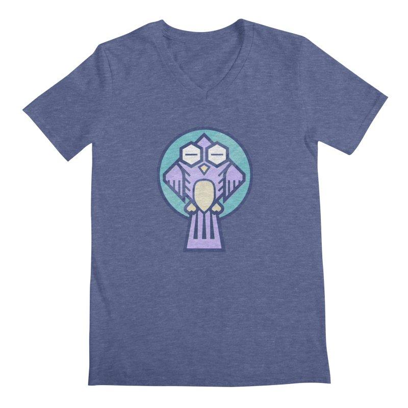Night Owl Men's Regular V-Neck by Gentlemen Tees